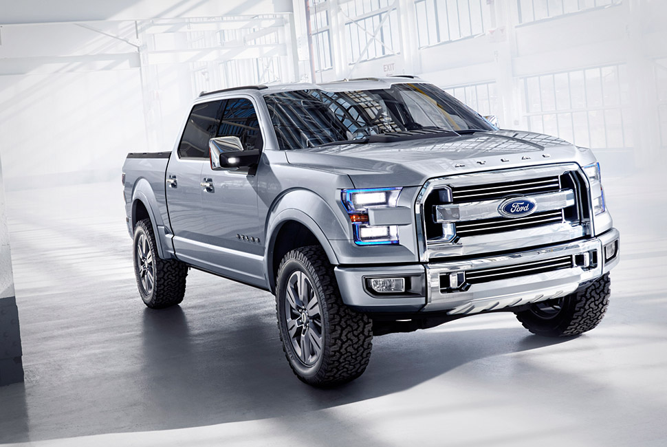 Ford Motor Company Releases The Ford Atlas Concept Truck