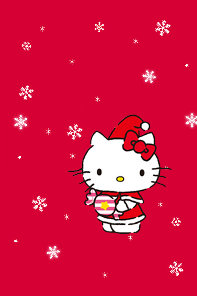 some hello kitty christmas wallies android themes. Black Bedroom Furniture Sets. Home Design Ideas