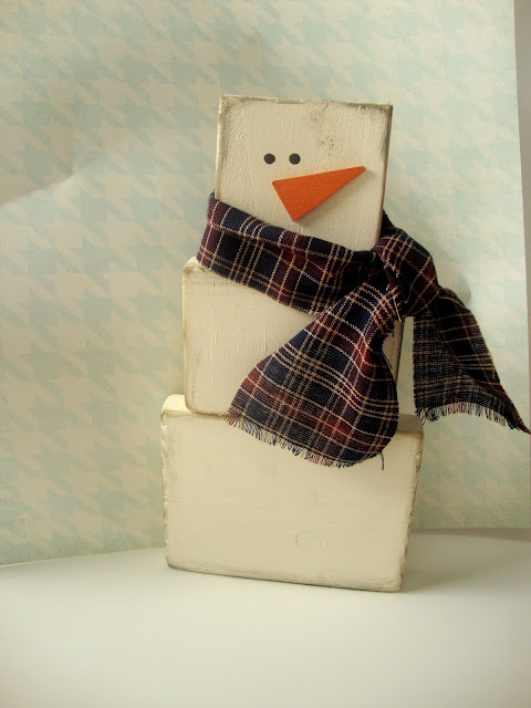 DIY Gift Idea {Snowman for sale}