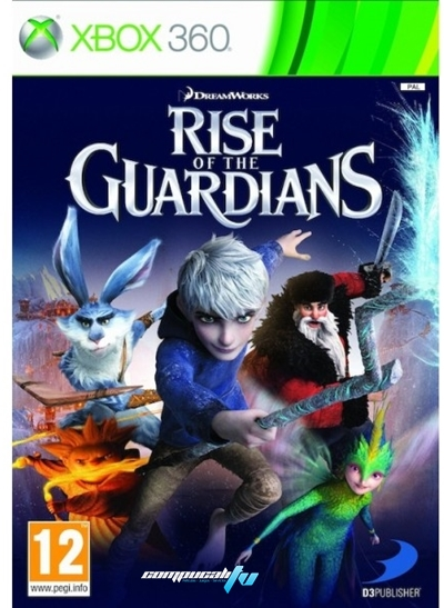 Rise of the Guardians Xbox 360 Regin Free Juego 2012