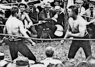 Combate John L Sullivan vs Jake Kilrain