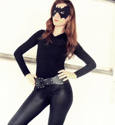 La Princesa Prometida Disfrazarte De Catwoman Batgirl Versión Casera