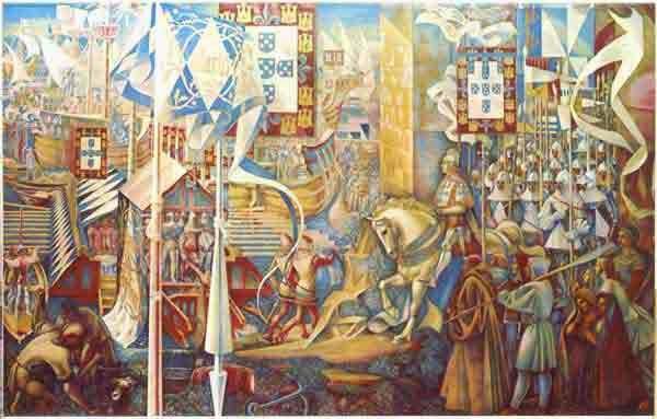 départ pour la conquête de ceuta