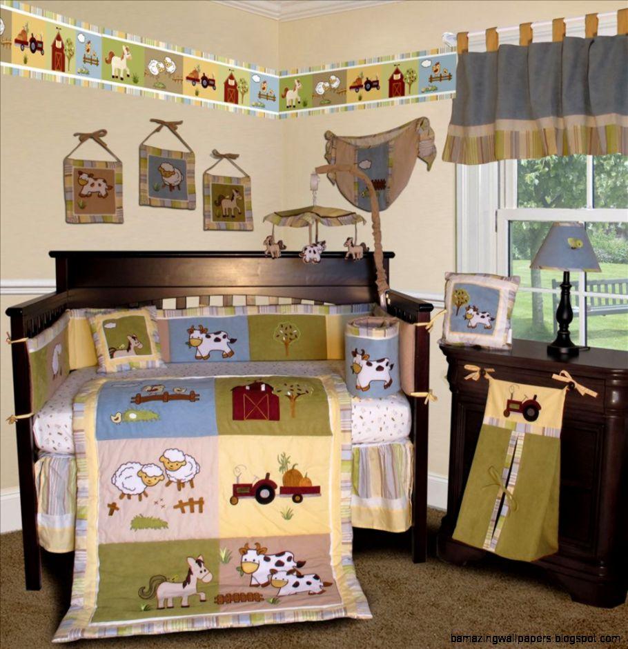 Farm Crib Bedding  eBay