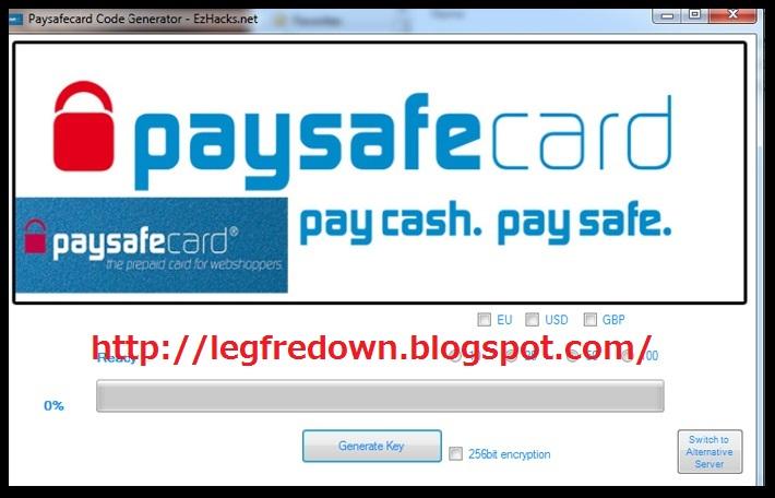 online paysafecard generator no survey