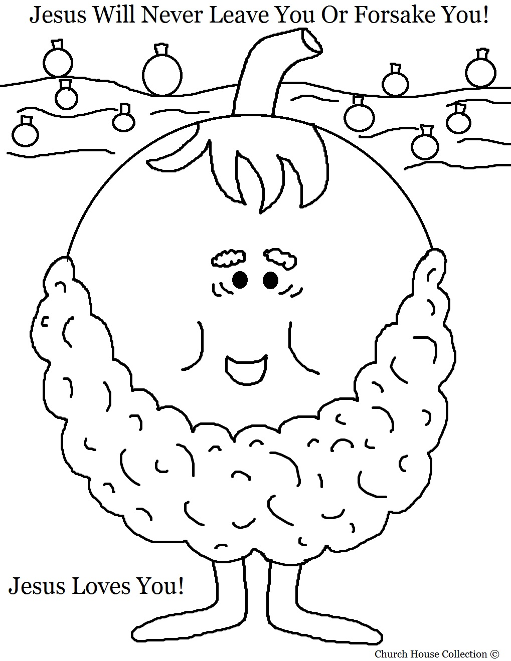 jesus loves you coloring pages - photo#23