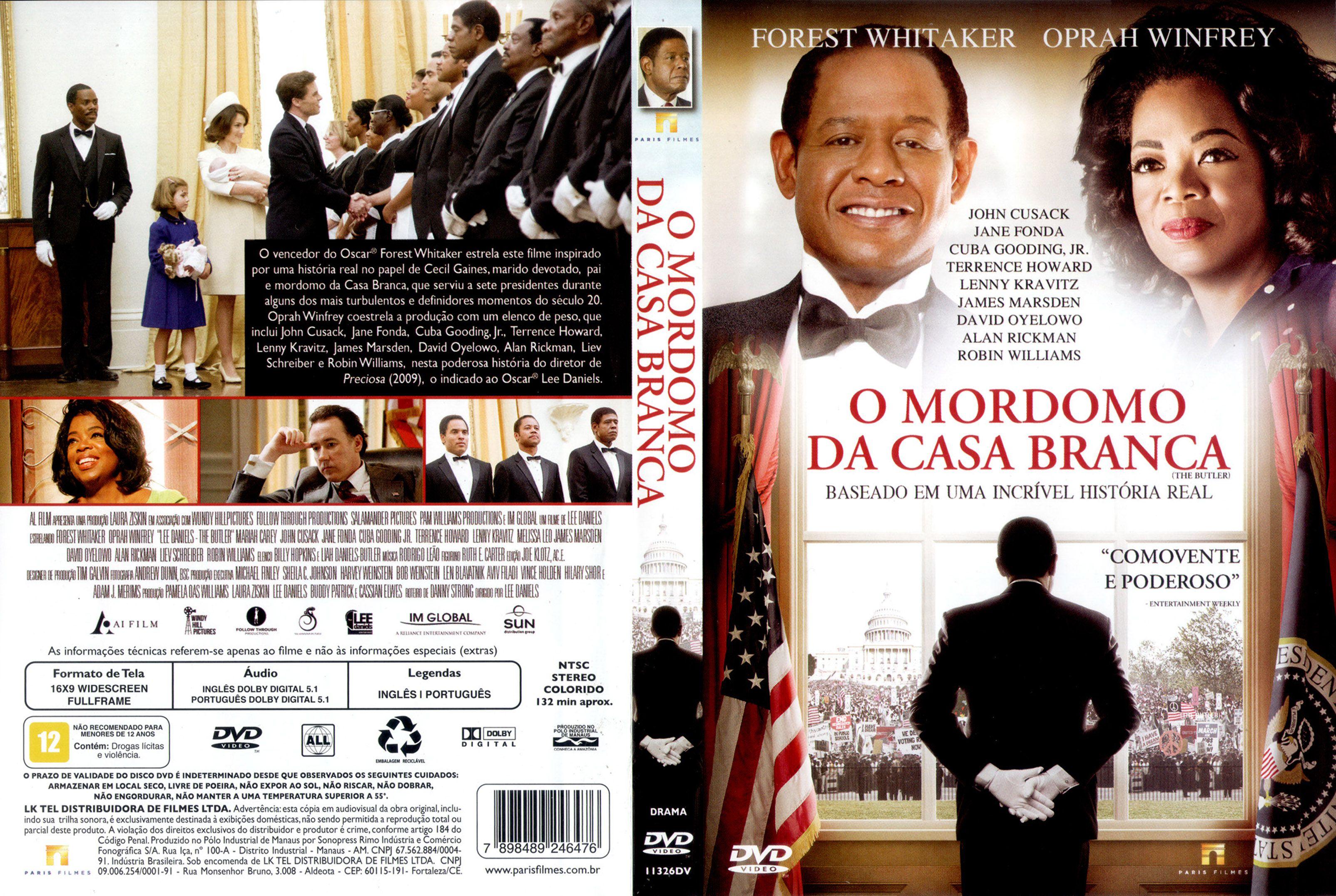 Capa DVD O Mordomo Da Casa Branca