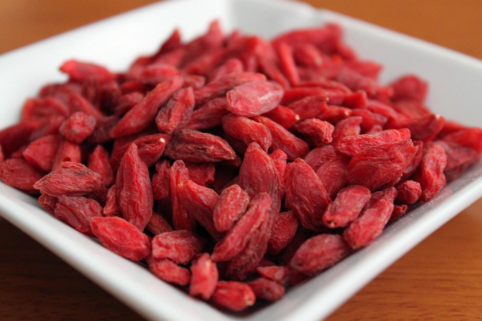 Goji Berry benefícios para a saúde
