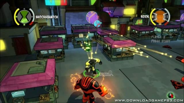 ben 10 omniverse games play download