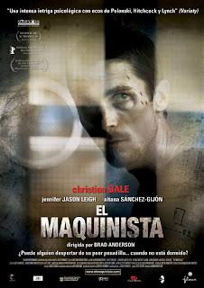 El Maquinista Poster
