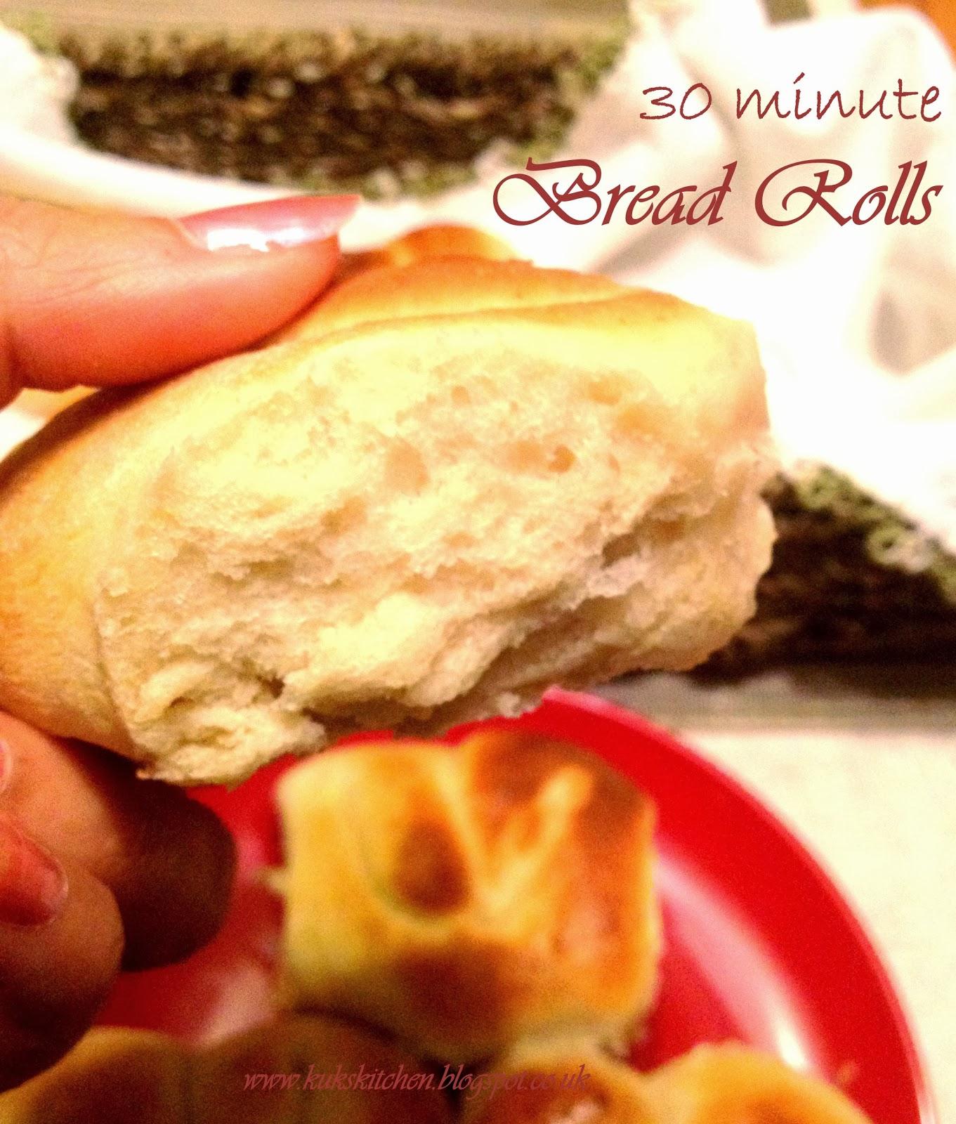 bread roll quick  | Kukskitchen 2ww