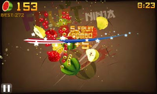 Download Fruit Ninja for Bada