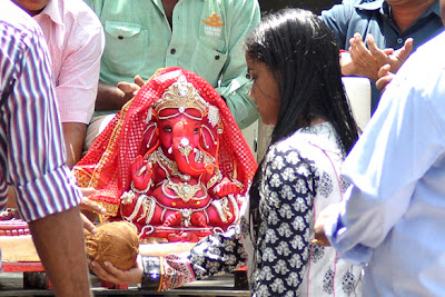 Ganesh Chaturthi (Ganpati) celebrations at Salman Khan's house