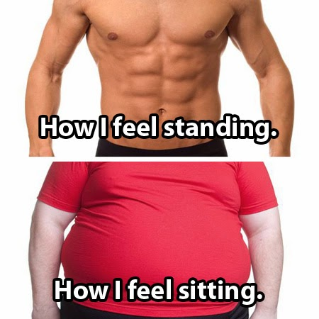 Is Sitting Killing Your Running Workout? My Awesome Standing Desk (Plus Infographic)