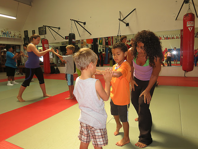 Kids self-defense Oceanside