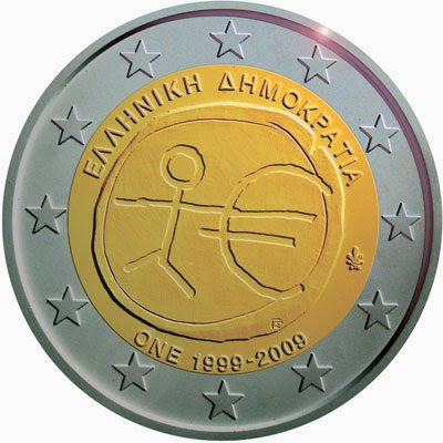 2 euro Greece 2009, Ten years of Economic and Monetary Union and the birth of the euro