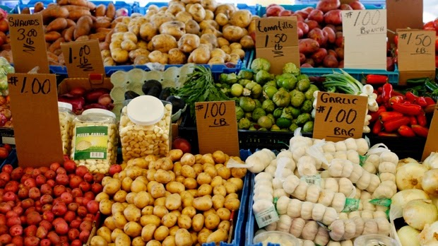 """Fruit, vegetable intake associated with mental wellbeing: study"" Picture of vegetables"