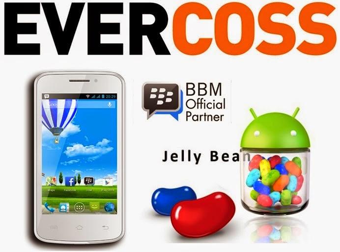 Daftar Harga Evercoss Android Baru dan Bekas