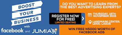 Facebook, Jumia Nigeria, Ecommerce, Business, Events, Register For Free Seminar: Boost Your Business With Facebook And Jumia
