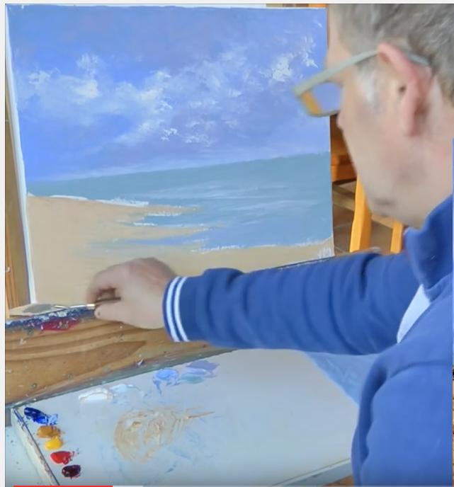 Deuxième partie: Atelier peinture au couteau