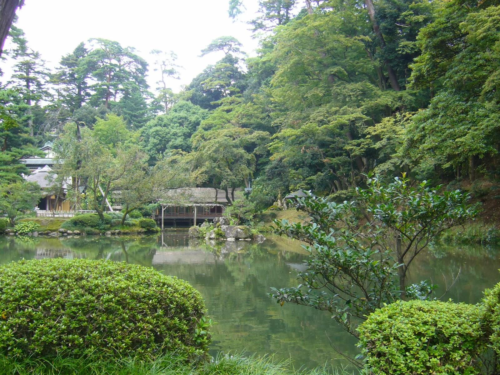 Un mexicano en jap n kenrokuen en kanazawa for Jardin kenrokuen