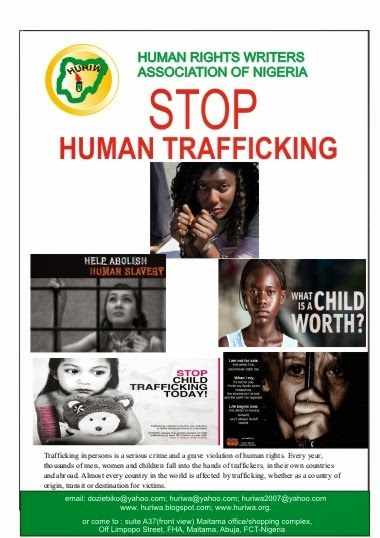 STOP HUMAN TRAFFICKING TODAY
