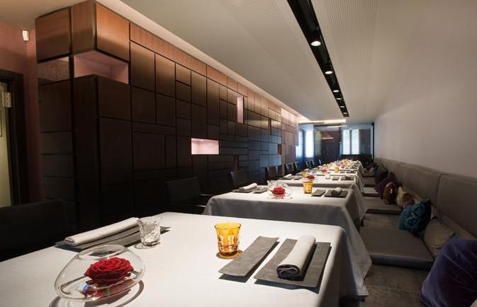 Cocina creativa sergi arola gastro madrid el - Restaurante sergi arola madrid ...