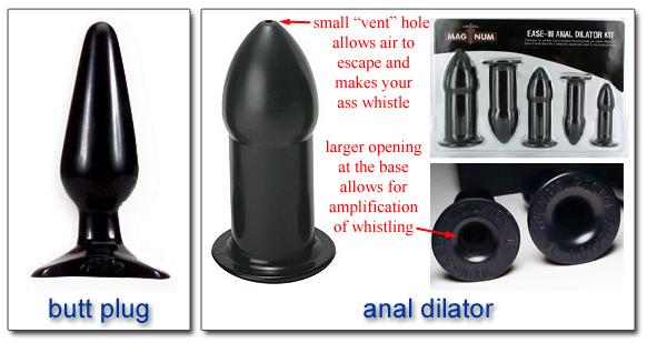 buttplug bondage set