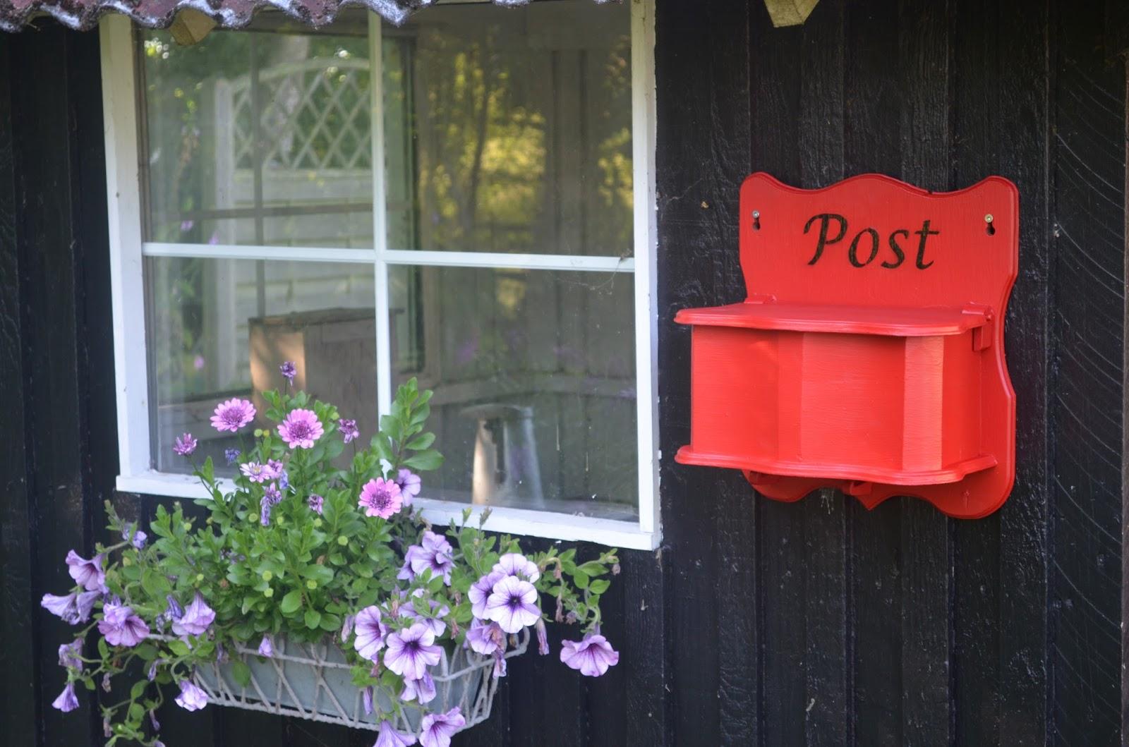 #BB1010 Meget bedømt Bonderosen: Gør Det Selv  Postkasse Gør Det Selv Ny Væg 5819 160010595819