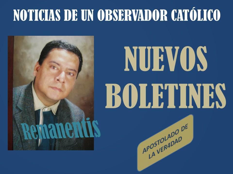 REMANENTIS II :  NOTICIAS DE UN OBSERVADOR CATÓLICO
