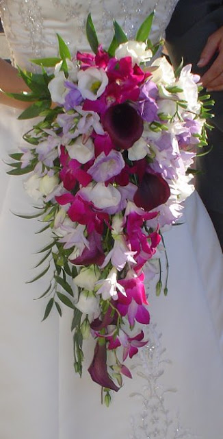 how to make a shower bouquet