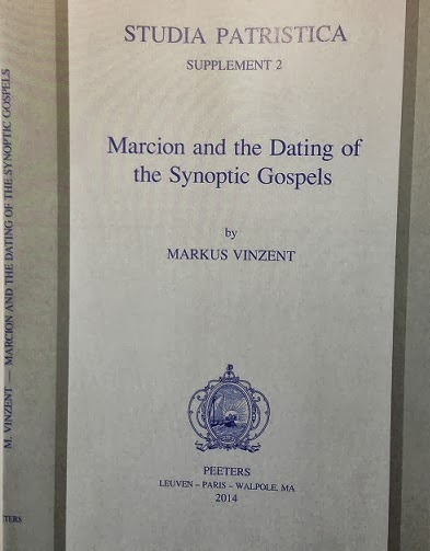 Dating Markus The Vinzent And Marcion