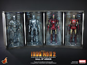 The Hot Toys Hall of Armor