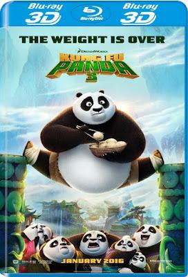Kung Fu Panda 3 2016 BD25 3D Latino