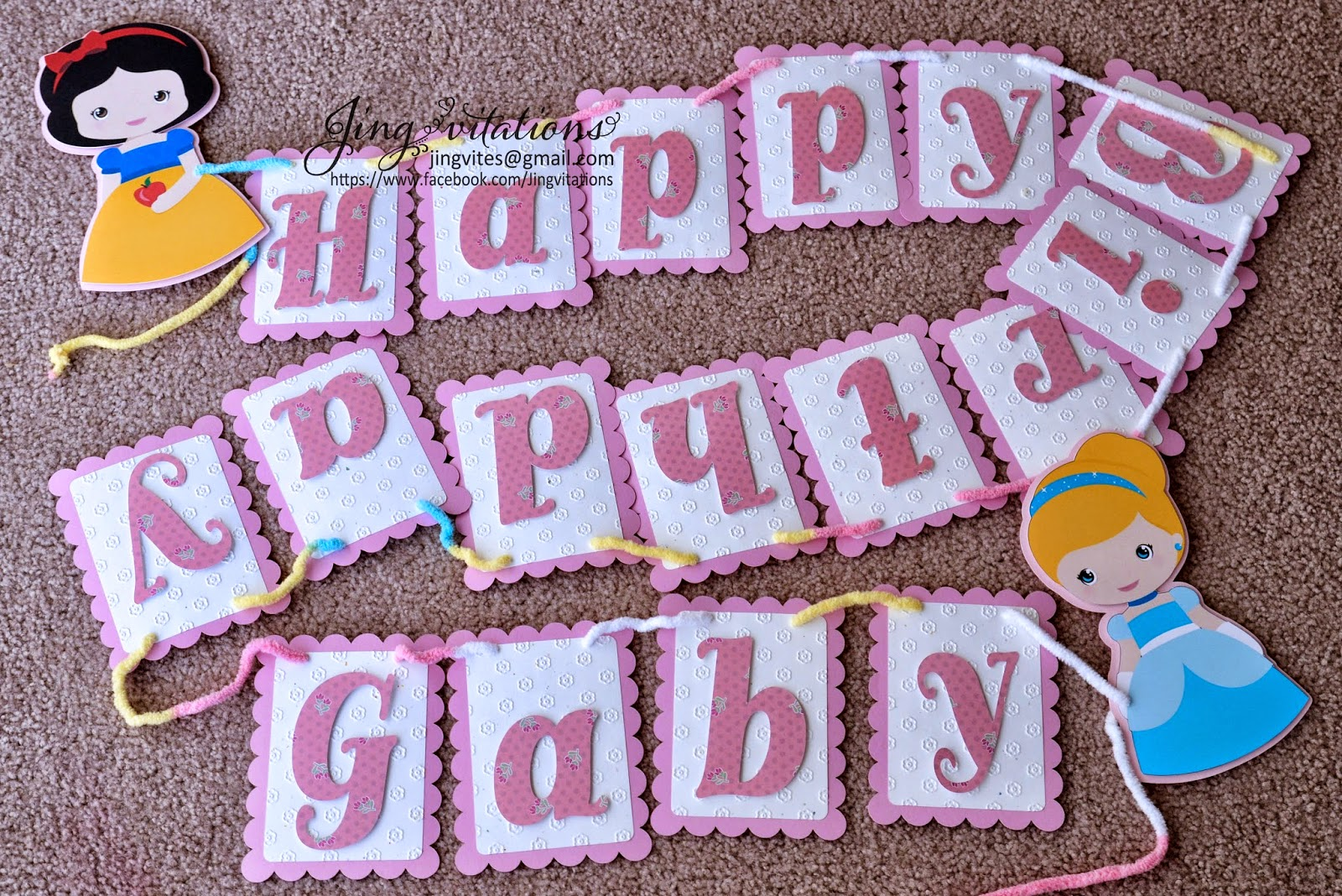 handmade party banner