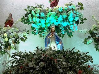Paróquia de Almino Afonso encerra o Mês de Maio com a coroação de Nossa Senhora