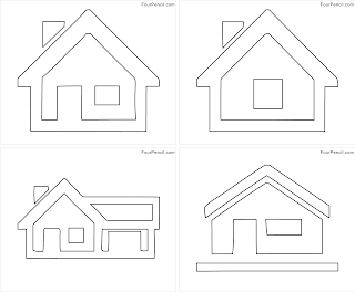 Free Printable Home Coloring Pages For Kids