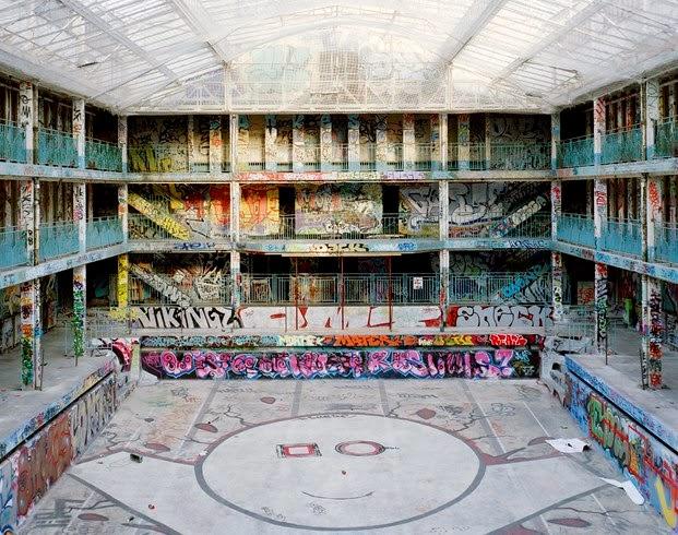 Piscinas Molitor, París (Grafitis)