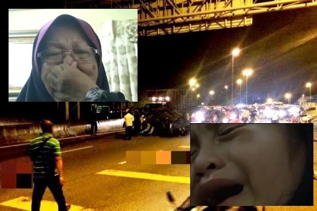 Video Kehilangan 3 Nyawa Dibawanya Yatim Piatu Cucu Mak Cik Sekelip Mata Ibu Arwah