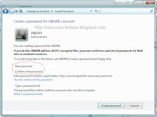 password komputer