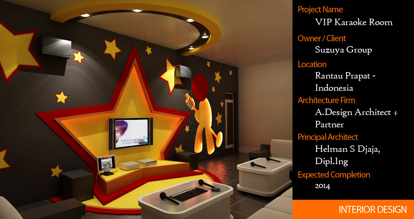 Architecture portfolio interior design of karaoke room for Karaoke room design ideas