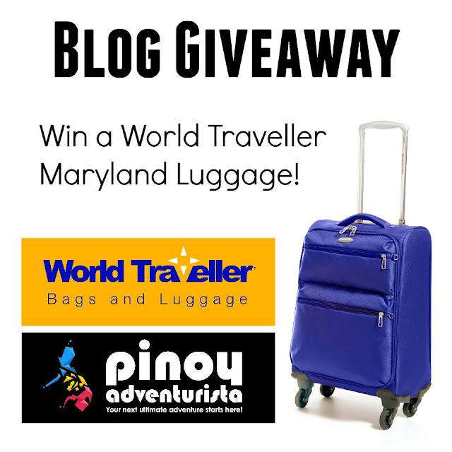 World Traveller Bags and Luggage Blog Giveaway