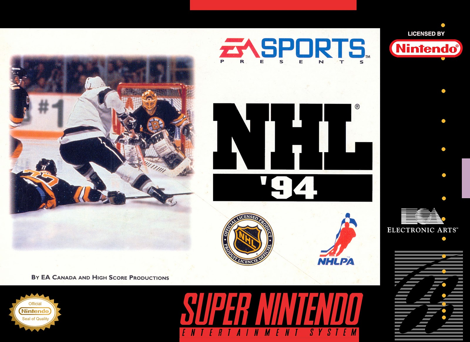 Why We Still Love NHL 94   Five Minutes For Fighting