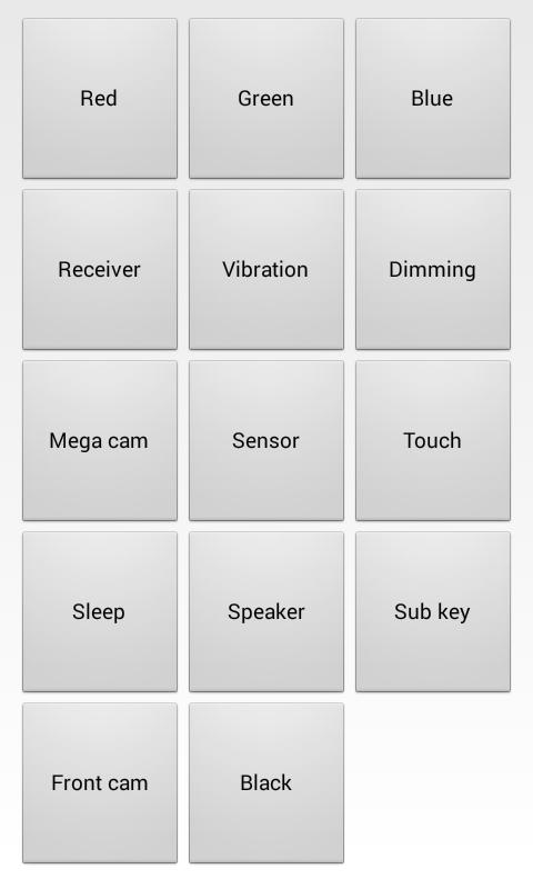 Tutorial cek kualitas gadget dan LCD Test Perangkat android dengan Kode Rahasia Android pada Samsung Galaxy, Sony Xperia, Nokia X, Motorola, Smartfrent Andromax, Evercoss dan Smartphone os android lainnya.