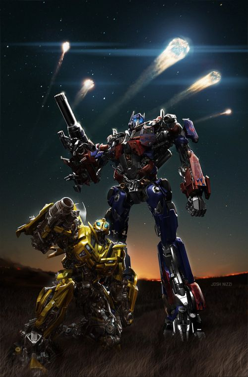 Josh Nizzi illustrations concept arts moviesTransformers
