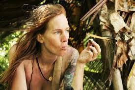 Naked survi, cigarette babe nude