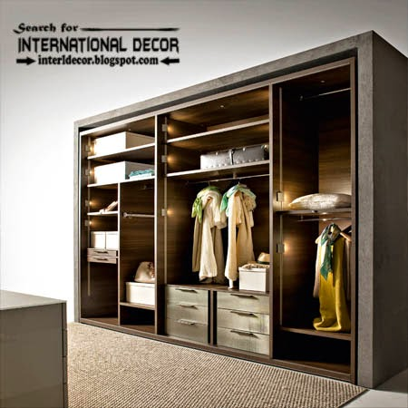 luxury Wardrobe systems, closet designs for dressing room