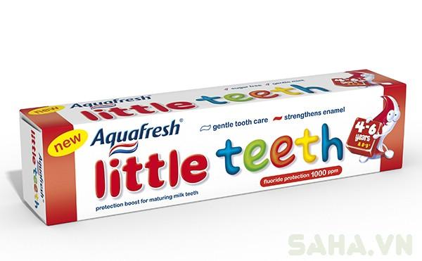 2 tuýt kem đánh răng aquafresh 3214