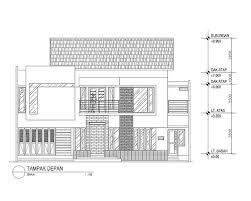 Design Rumah Minimalis Modern 2 Lantai