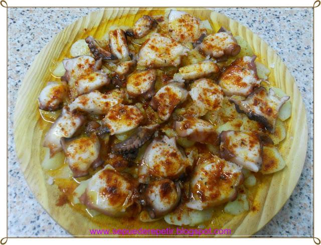Se puede repetir pulpo a la gallega for Se puede cocer el pulpo congelado